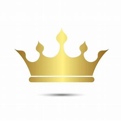 Couronne Symbole Fond Avec Corona Couleur Blanc