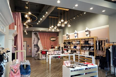 lingerie store interior design  mindful design consulting