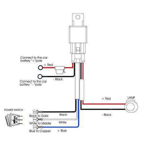 Nilight Awg Heavy Duty Wiring Harness Kit Lead