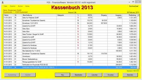 fgs kassenbuch  sharewarede