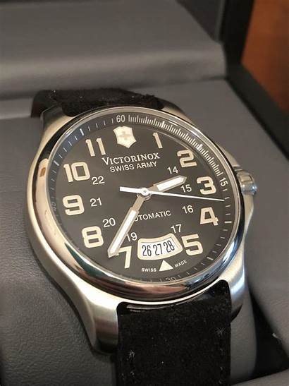 Victorinox Automatic Wts Officer Classic Officers Watchexchange