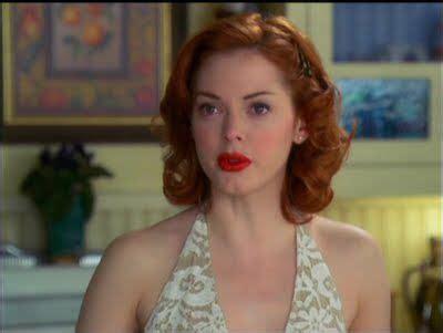 Rose McGowan Charmed Red Hair