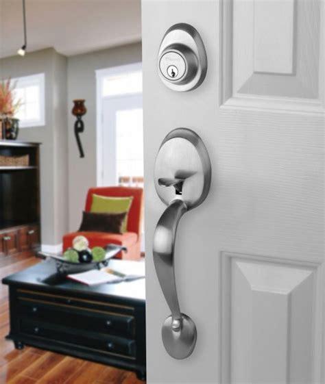 entry door locks front door entry set lock satin nickel with egg knob