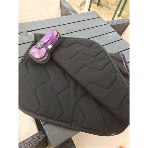 ensemble violet et noir