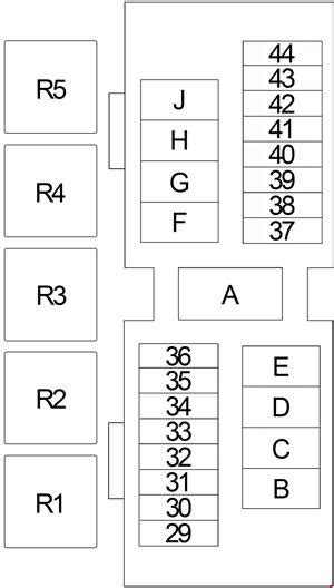 nissan frontier   fuse box diagram auto genius