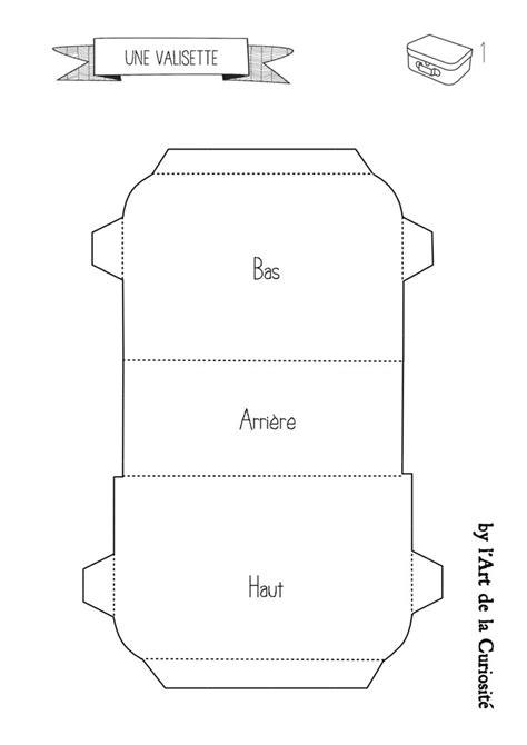 pour fabriquer une valisette en plan 1 du site technique en photo