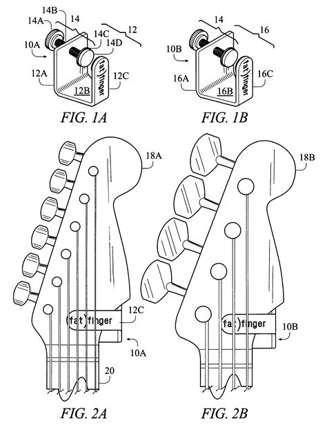 bass headstock template danelectro patent us6515209 add on headstock mass device for a