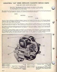 Eisemann Am Magneto Parts Catalog 1949