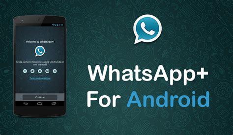 mod whatsapp plus v 5 70 android apk magazine