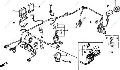 wiring diagram honda pc800 honda motorcycle 1998 oem parts diagram for wire harness partzilla