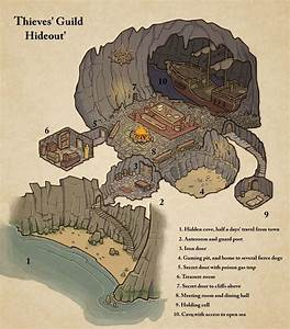 Thieves U0026 39  Guide Hideout Map Cartography