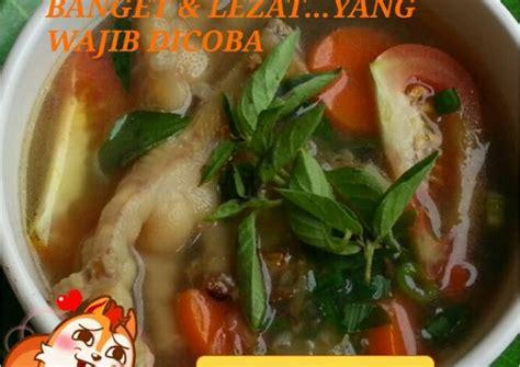 Masukkan daun kemangi dan masak sebentar. Resep sop ceker daun kemangi super lezat ~ Cara memasak dengan mudah. Resep 100% Halal&Tentunya ...