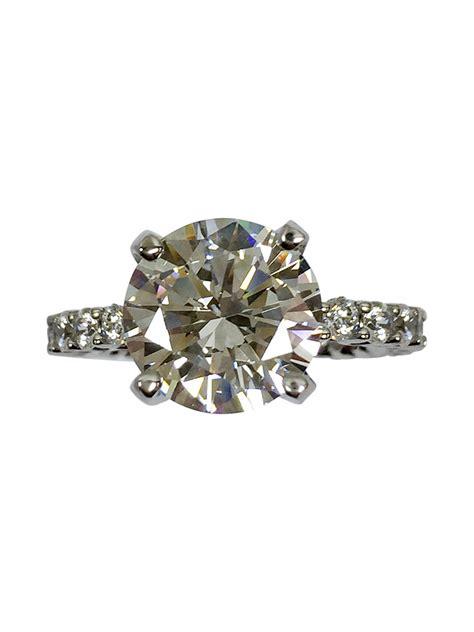 cubic zirconia rings engagement rings 5 carat aaa