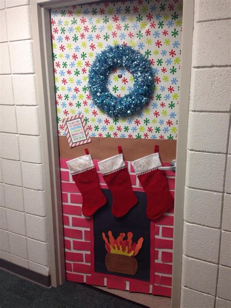 dorm door christmas decorations mackensie wittmer