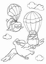 Coloring Flying Sky Albatross Pinguins Pages Fly Curious Printable Animals Learned Template Tales Books Bird Categories Drawing Supercoloring sketch template