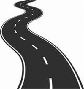 Vector Illustration of winding road