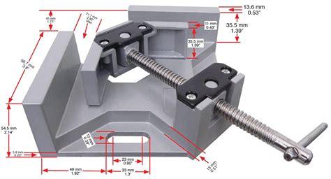 tech corner clamp  angle  degree adjustable vise
