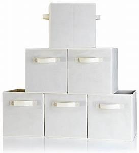 B&C Home Goods Dual Handle Storage Cubes