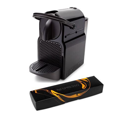 The instant pod coffee & espresso maker takes both keurig and nespresso pods and is a snap to use. Nespresso Inissia Espresso Maker (Black) and Coffee Capsules Pods Bundle - Walmart.com - Walmart.com