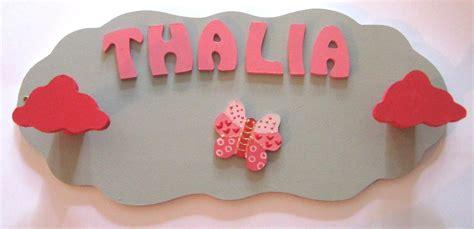 lettres décoratives chambre bébé prénom thalia origine lettre bois