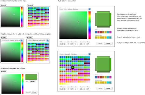 html color picker jquery ui development planning wiki colorpicker