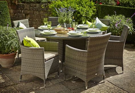 Garden Furniture by Hartman Bentley 6 Seat Dining Set Hbenset03 Garden