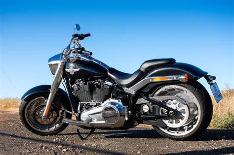 Riding The 2018 Harley-davidson Softail Fat Boy