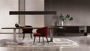 meuble design pour salon et salle a manger 8 tables et With meuble salle À manger avec table rectangulaire