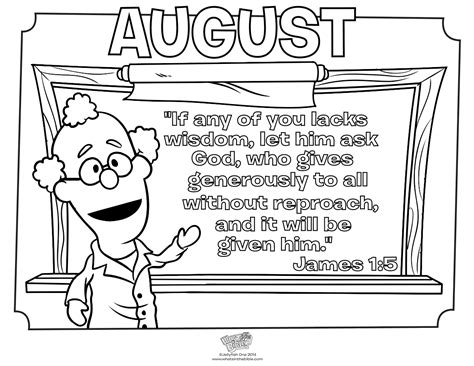 august coloring pages preschoolers contest  sheets