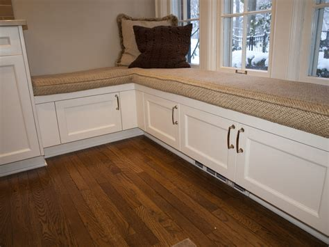 kitchen bench seat with storage timeless shaker heights kitchen remodel by the beard 7731