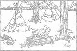 Coloring Maple Indian Syrup Native Sugar Colouring Sheets Making Printable Indians Pure Indiana Preschool Festival Links Visit Unit Sugarbush sketch template