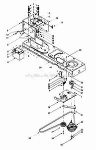 Wiring Database 2020  28 Troy Bilt Pony Deck Spring Diagram