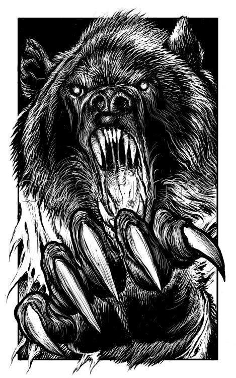 FF Howl of the Werewolf 02 Werebear Digital at ArtistRising.com | i like . . . the werewolf