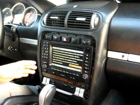 car repair manual download 2010 porsche cayenne navigation system how to remove radio cd navigation from 2003 porsche cayenne for repair youtube