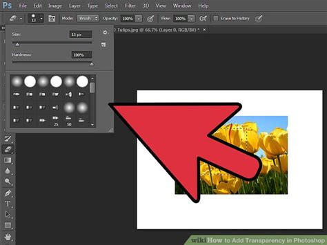 4 Easy Ways To Add Transparency In Photoshop Wikihow