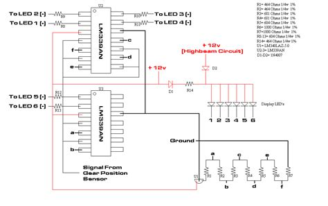 Wiring Diagram For Motorcycle Indicator by Gear Display For Unicorn