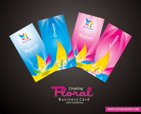 business card design  coreldraw tutorial corel draw