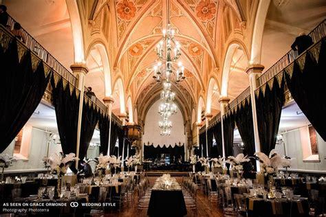 A Great Gatsby themed wedding at Le Salon Richmond in