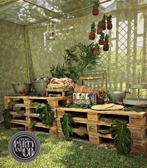 Jungle Safari Animals Baptism Party Ideas Safari theme