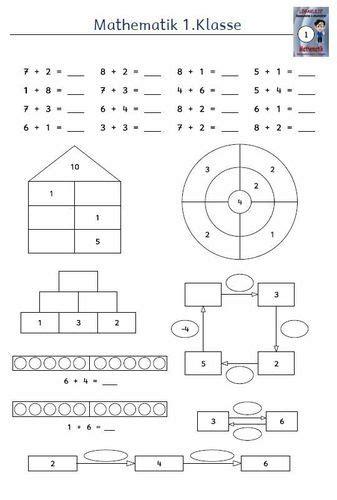 Für alle inhaltsbezogenen anforderungen des lehrplans bieten wir kostenlose mathe arbeitsblätter zum ausdrucken und downloaden an. Matheaufgaben Klasse 1 Zum Ausdrucken Gratis
