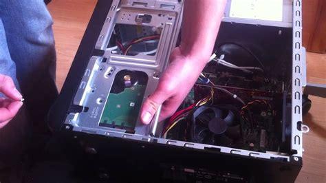 bureau pc fixe comment changer disque dur d 39 ordinateur remplacer le