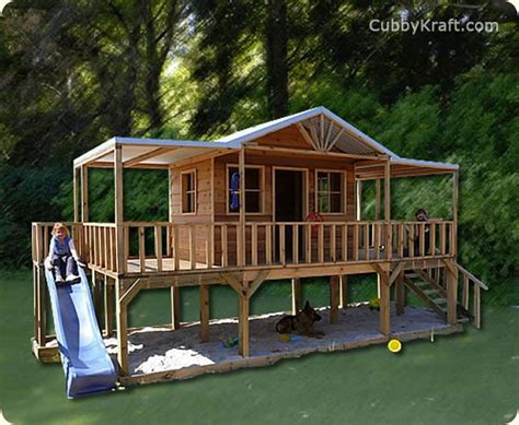 66 Best Cubby Houses Images On Pinterest