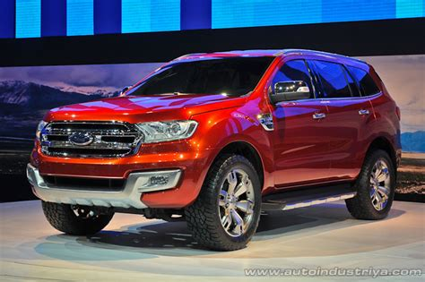 exclusive 2015 ford everest global reveal very soon