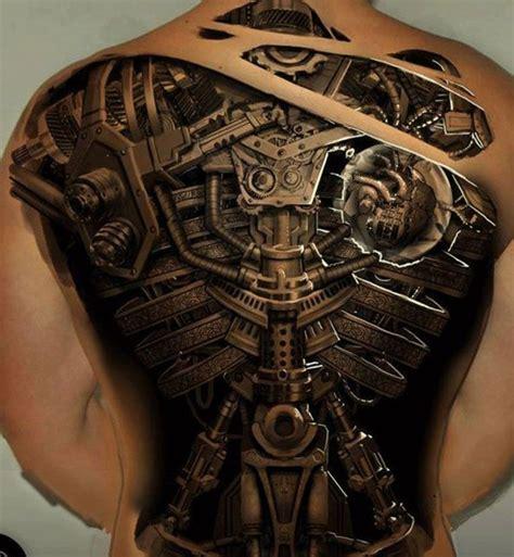 Tatouage Dos Complet Tatouage Biomecanique R 233 Aliste 3d 310 Incroyables Mod 232 Les 놀라운 문신들 문신