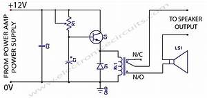 Speaker Protection Circuit Schematic