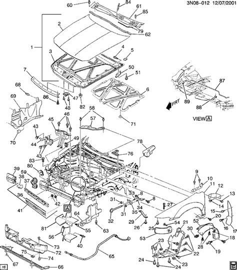 Starter Wire Diagram 2001 Alero by 2004 Oldsmobile Alero Wiring Diagram 36 Wiring Diagram
