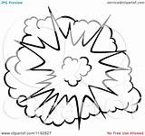 Explosion Comic Poof Burst Illustration Clipart Vector Background Cartoon Graphics Clipartof Clip Royalty Drawing Comics Seamartini Transparent Explosions Tradition Sm sketch template