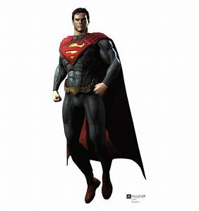 Superman Injustice DC Comics Game Life Size Cardboard ...  Superman