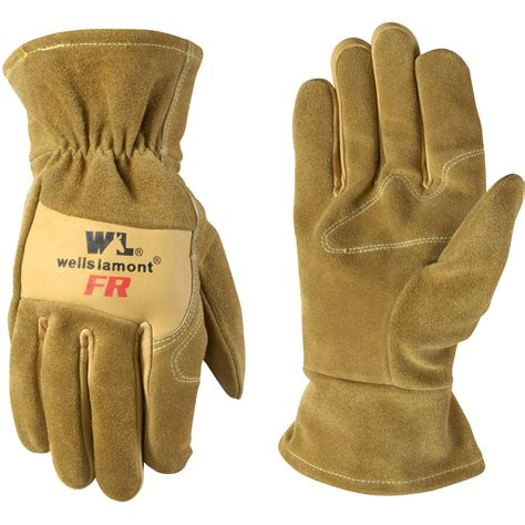 Cowhide Leather Gloves by Cowhide Leather Resistant Work Gloves Walmart