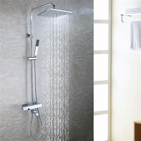 bath tub exposed shower faucet set   bathroom rain